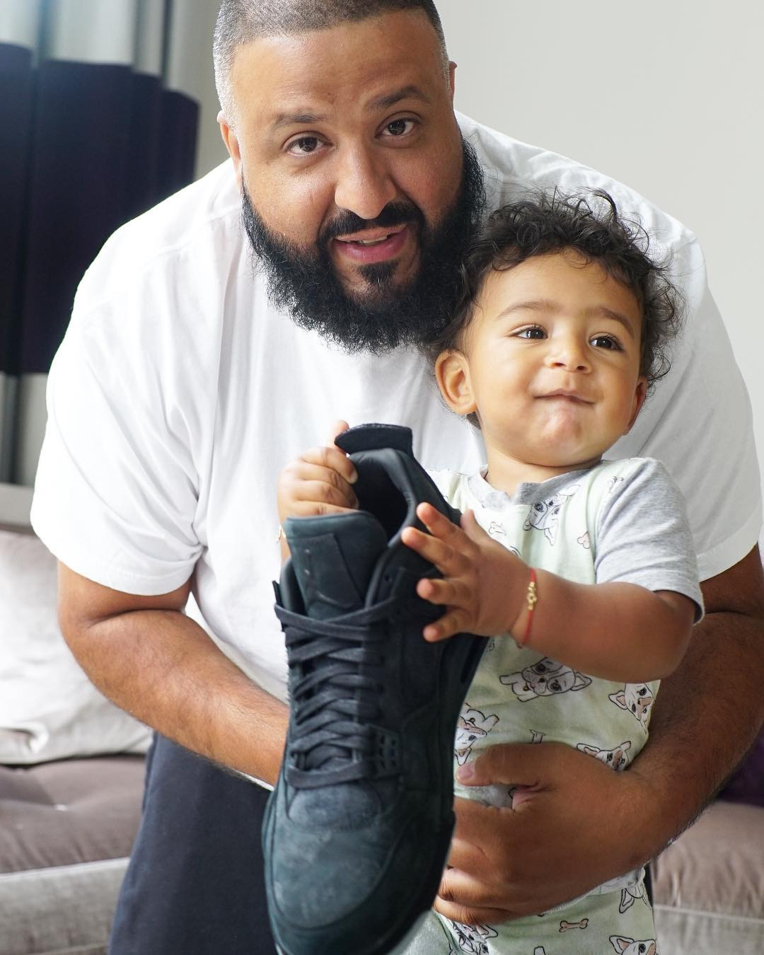 3f3e73ee2786 Image via Instagram ( djkhaled) Air Jordan 4 Kaws Black DJ Khaled