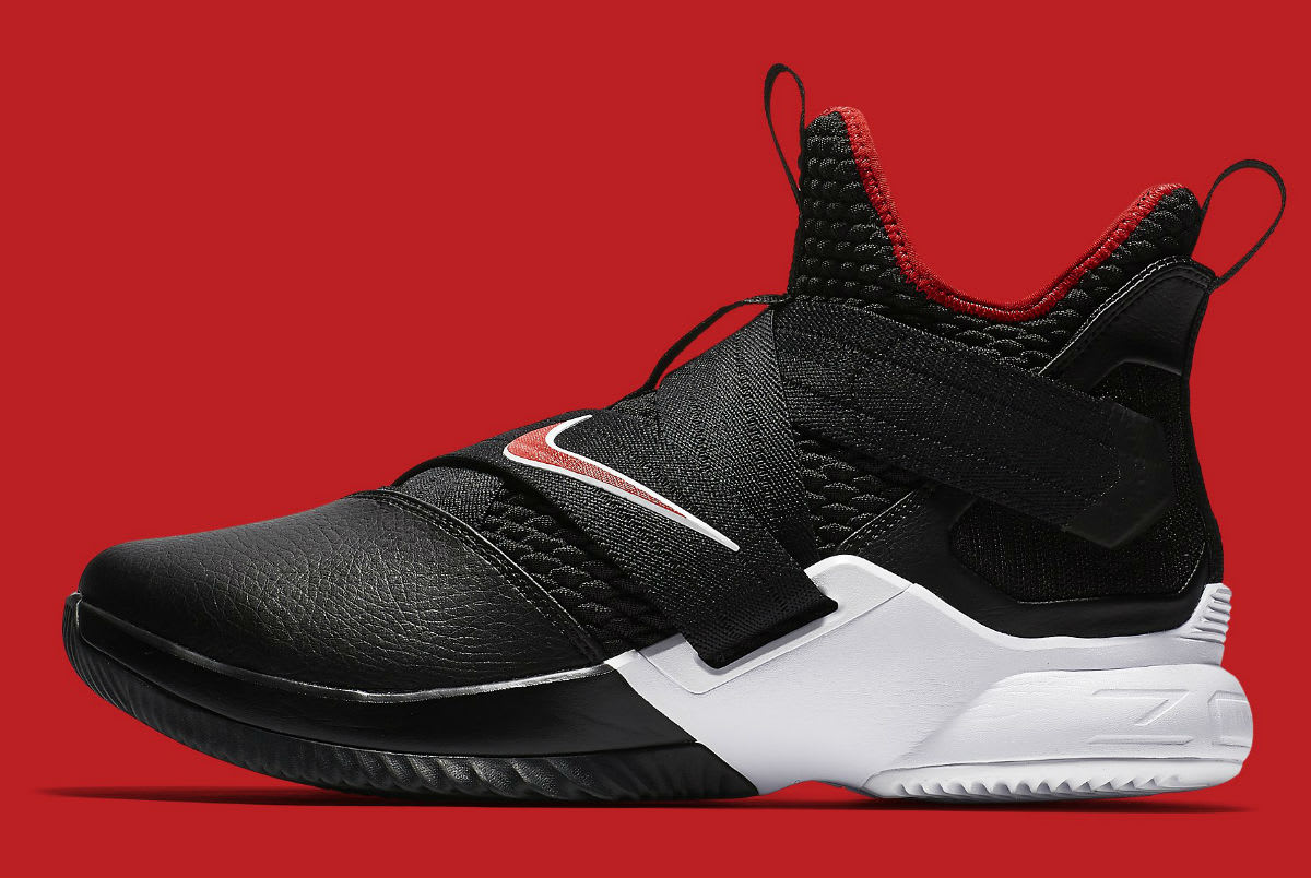 Nike LeBron Soldier 12 Bred Release Date AO4053-001 Profile