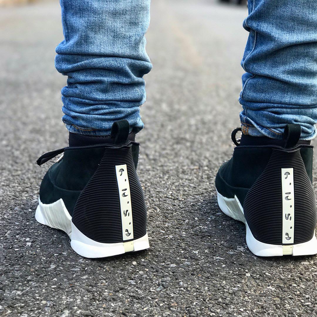 PSNY x Air Jordan 15 On-Foot Heel