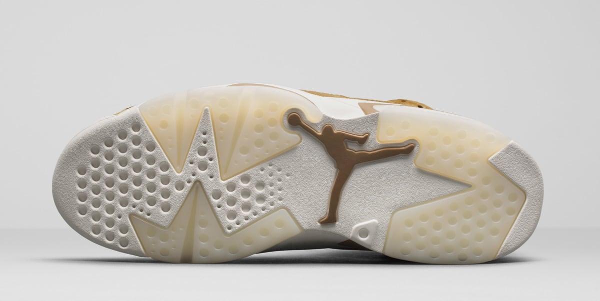 Air Jordan 6 Wheat 384664-705 Outsole