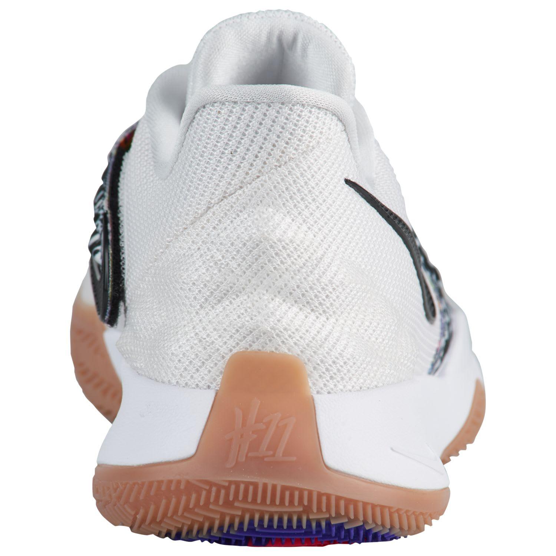 Nike Kyrie 4 Low White Black AO8979-100 Heel