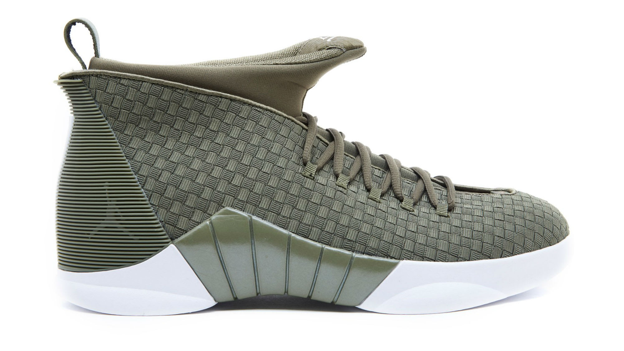 792a69aa742f PSNY x Air Jordan 15 Olive Release Date AO2568-200
