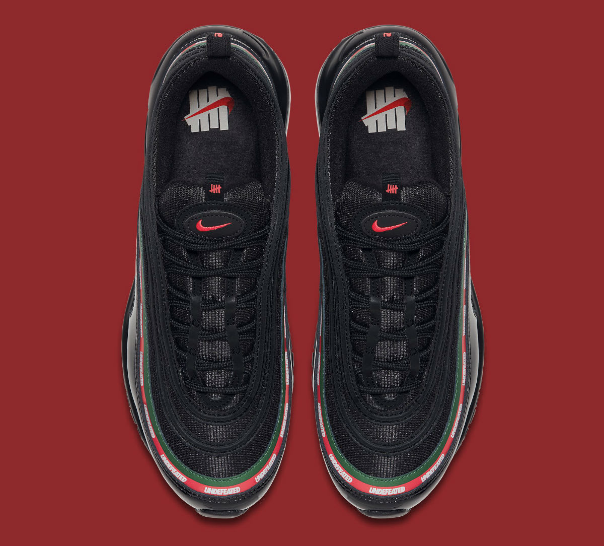 Undefeated x Nike Air Max 97 Black Release Date Top AJ1986-001
