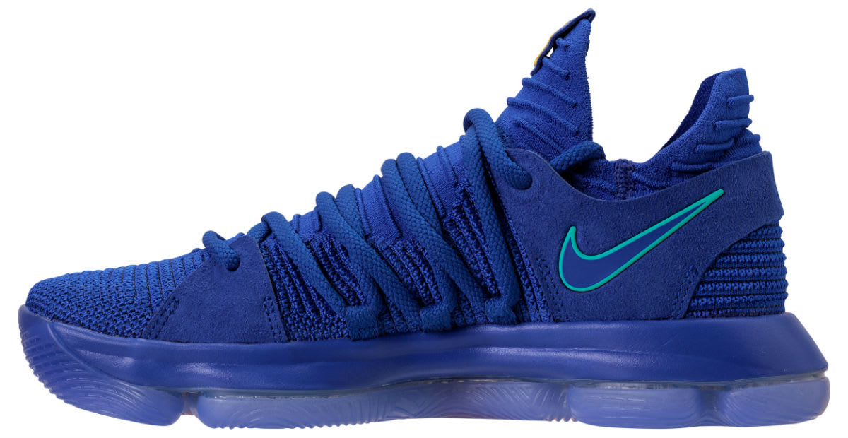 Nike KD 10 City Edition Release Date 897815-402 Medial