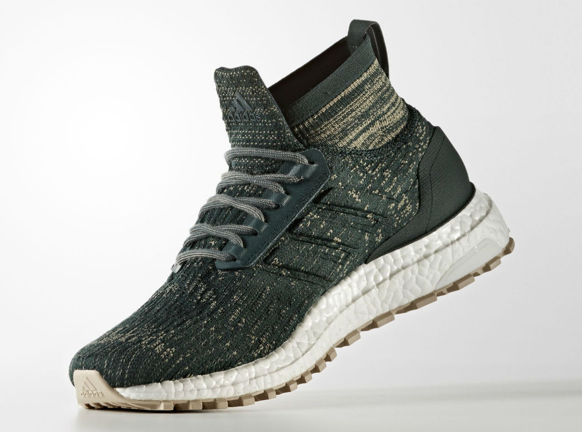 adidas ultra boost atr mid green tan release date sole collector. Black Bedroom Furniture Sets. Home Design Ideas
