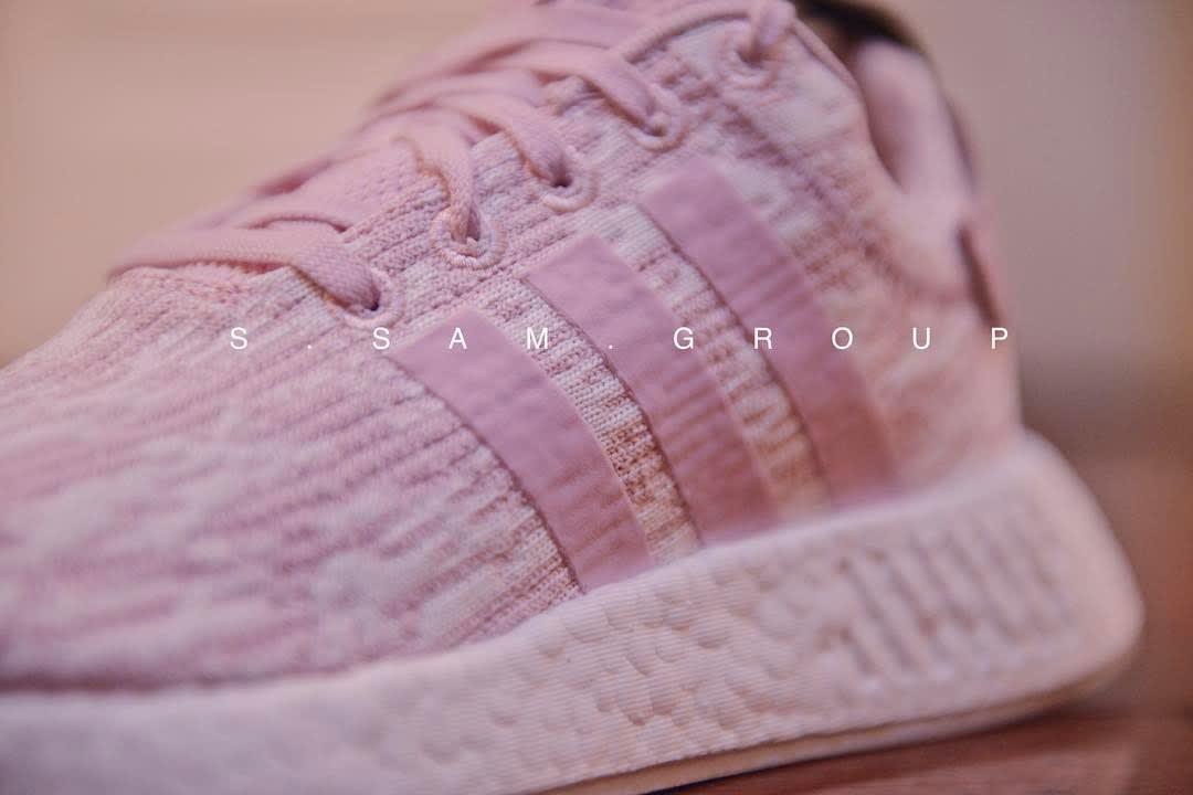 Pink Adidas NMD R2 Detail