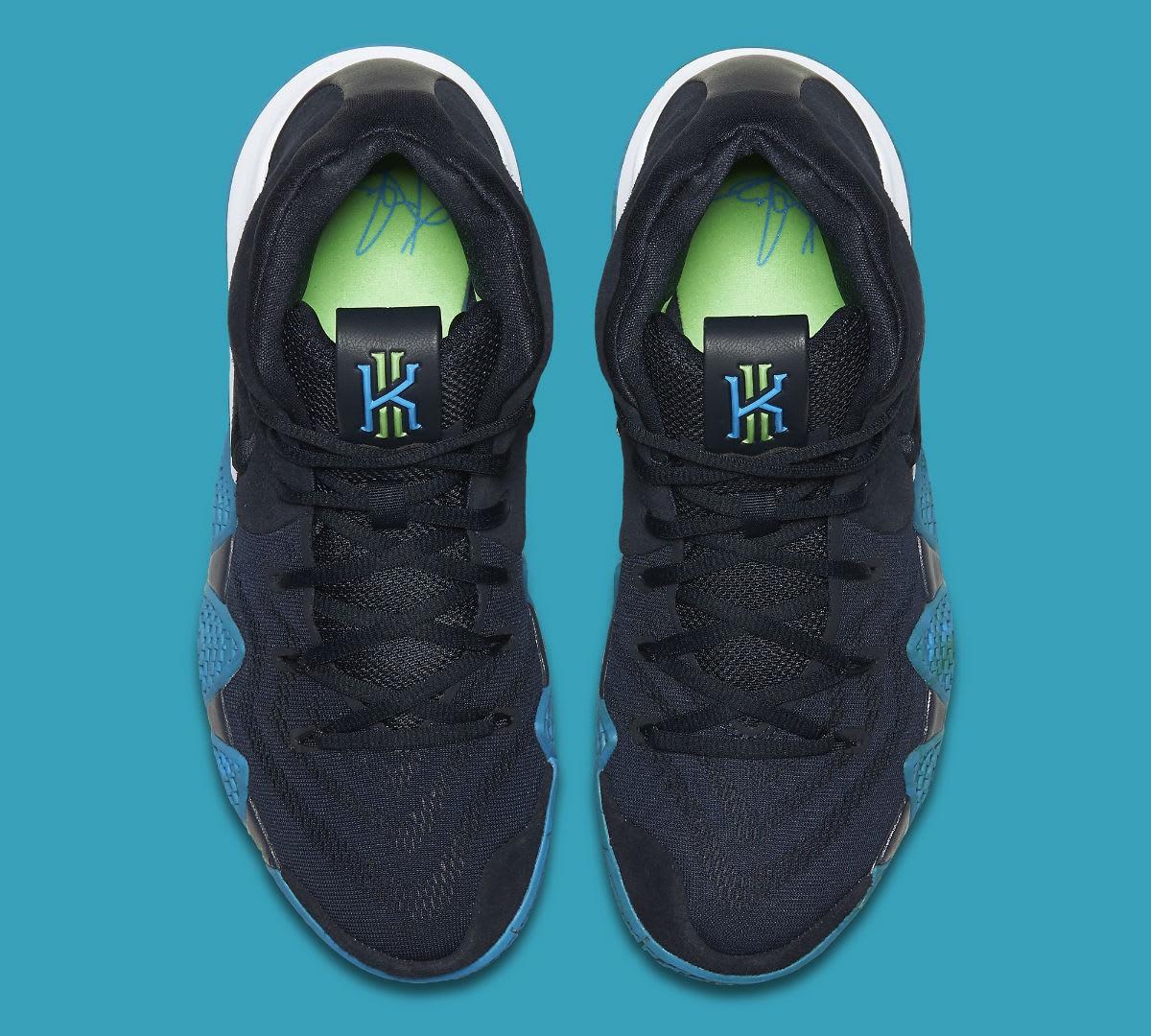 Nike Kyrie 4 Dark Obsidian Release Date 943806-401 Top