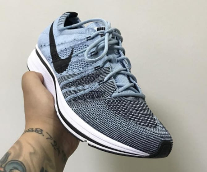 Nike Flyknit Trainer 'Cirrus Blue/Black-White' AH8396-400 (Lateral2)