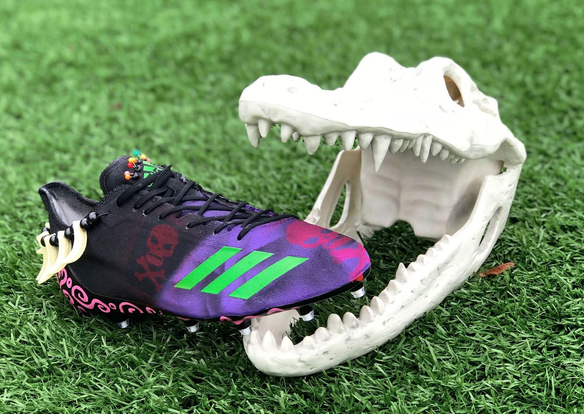 Adidas Adizero Landon Collins Halloween Side