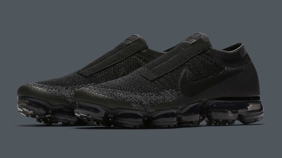 Nike Air VaporMax Laceless Black Release Date Main AQ0581-001