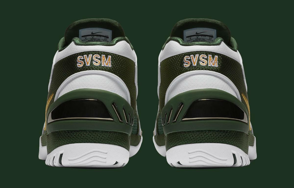 Nike Air Zoom Generation SVSM Release Date AO2367-100 Heel