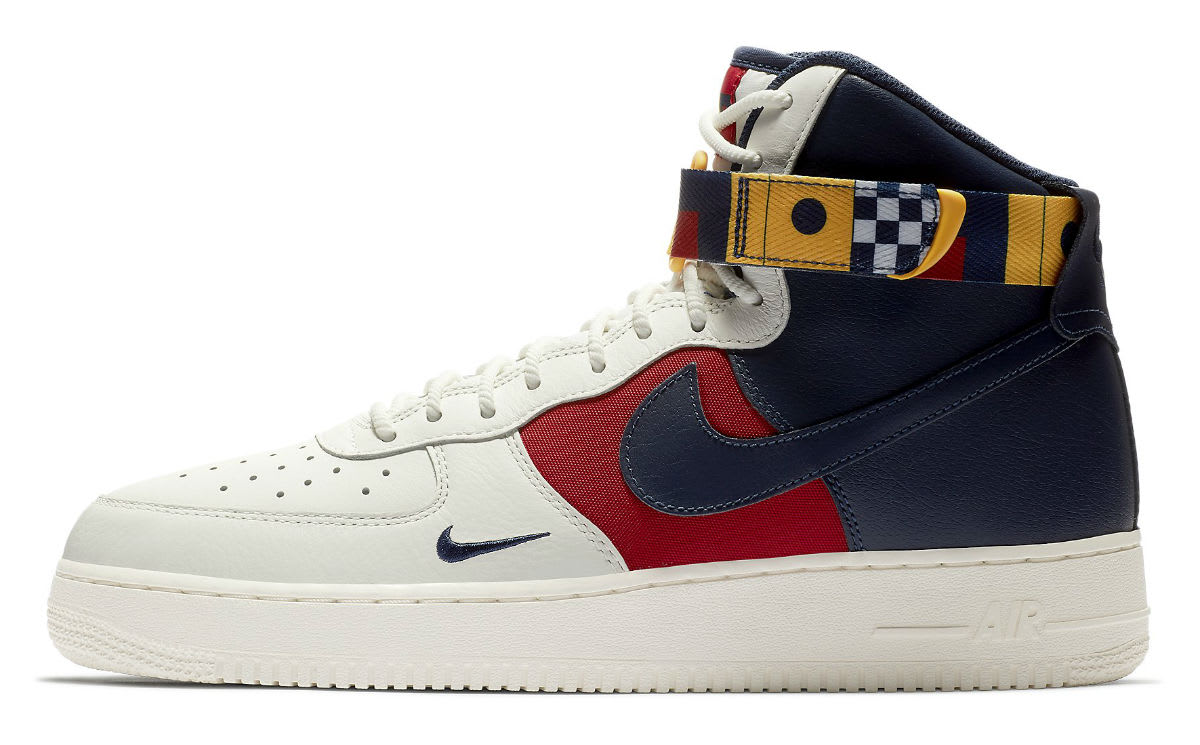 Nike Air Force 1 High Nautical Redux Release Date AR5395-100 Profile