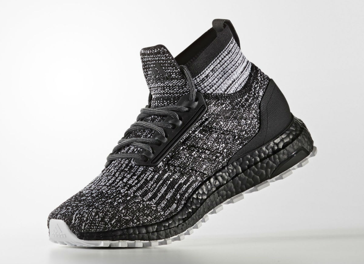 Adidas Ultra Boost ATR Mid Oreo Black White Release Date Medial