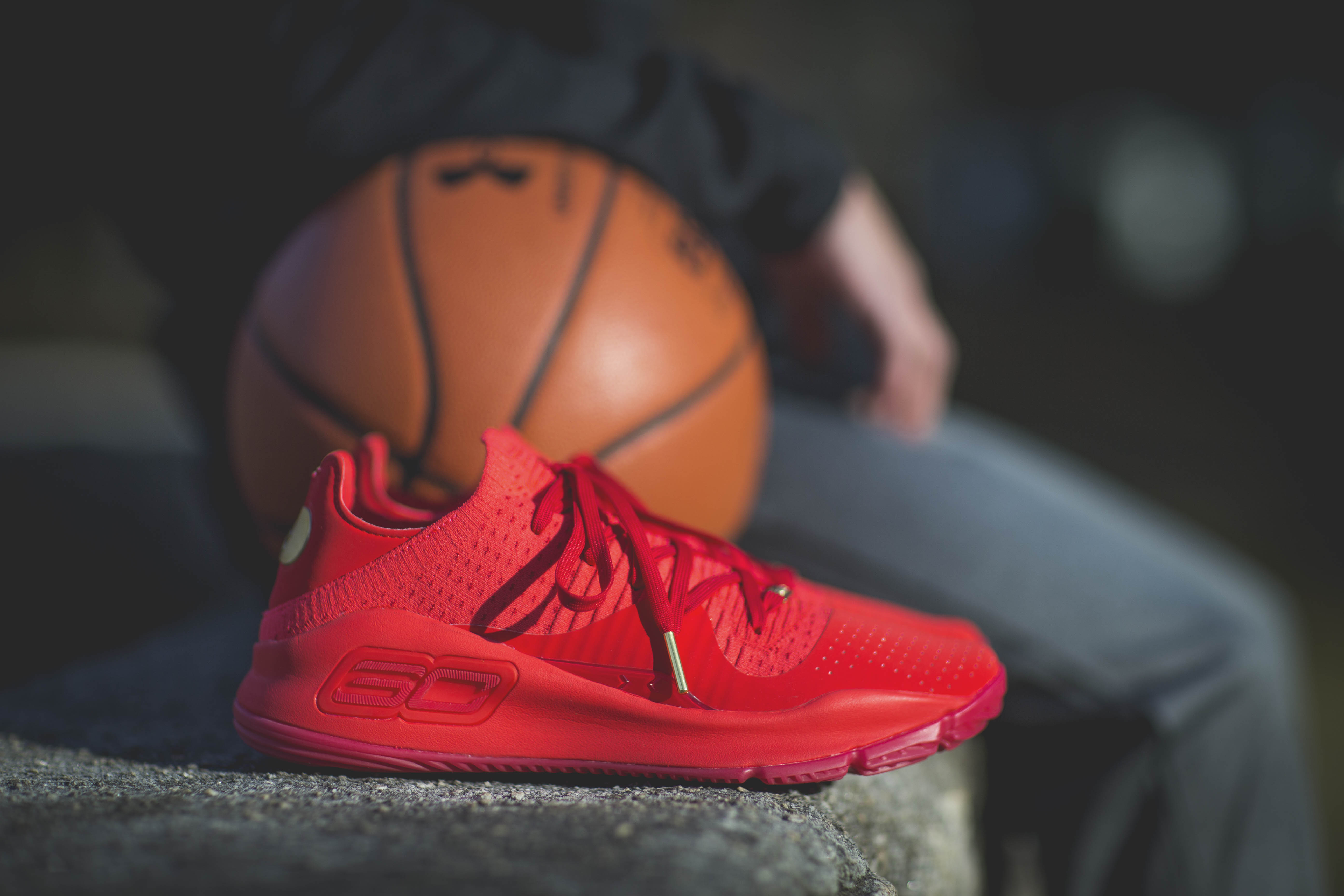 Under Armour Curry 4 Low 'Red'