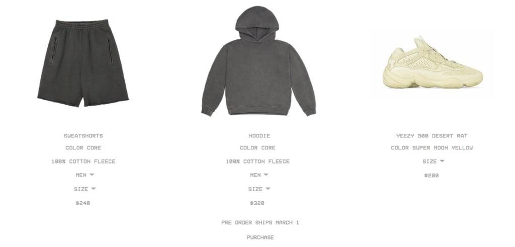 Adidas Yeezy Bundle