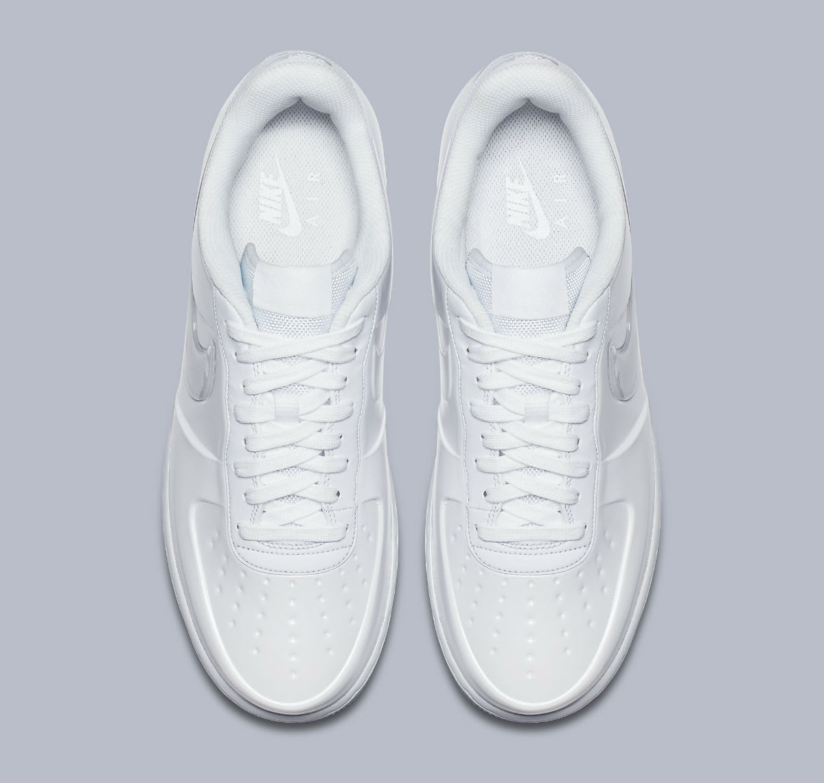 uk availability 6107a e872d Image via Nike Nike Air Force 1 Foamposite Pro Cup White Release Date AJ3664 -100 Top