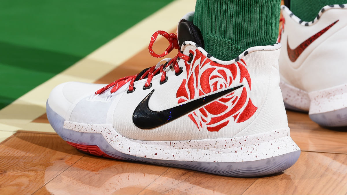 Kyrie Irving Sneaker Room x Nike Kyrie 3 Mom Red