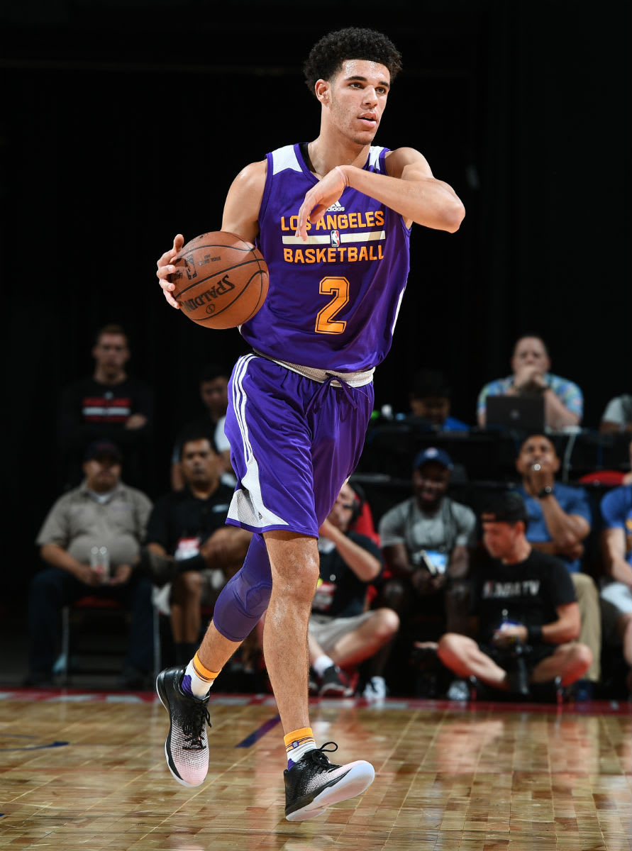 Lonzo Ball Wearing the Air Jordan 31 Low