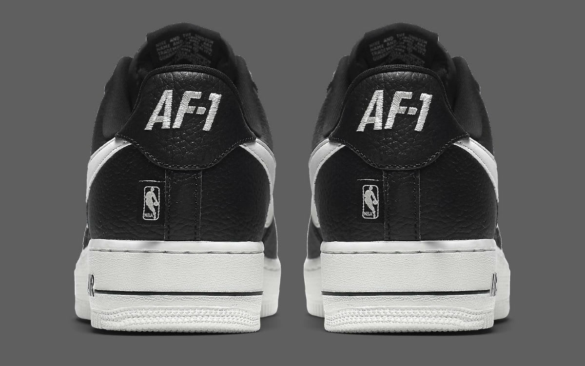 Nike Air Force 1 Low NBA Statement Game Release Date Heel 823511-007