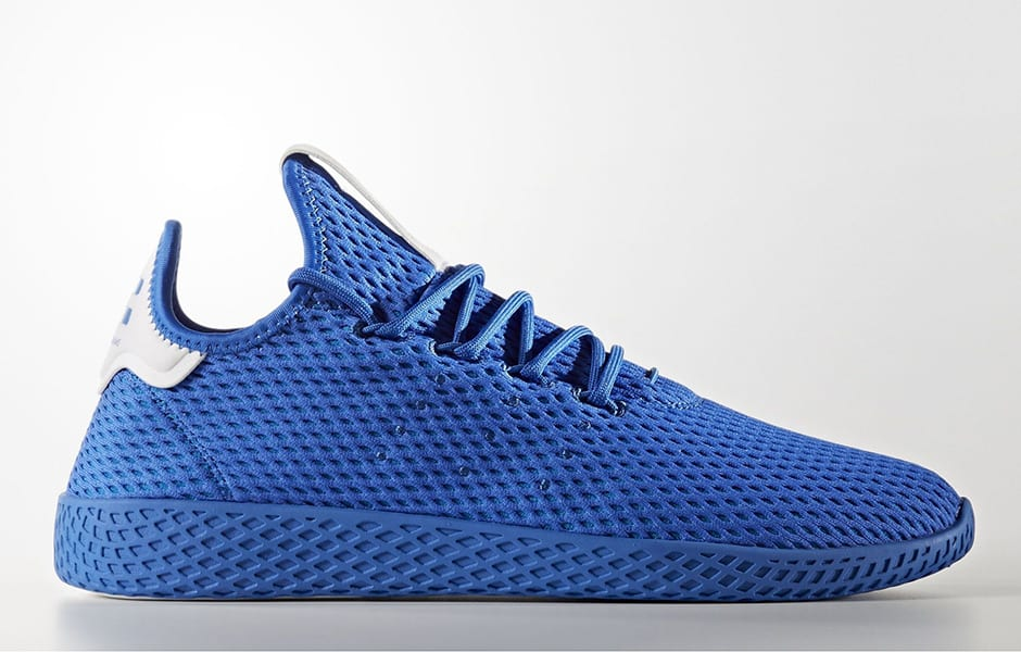 Pharrell x Adidas Tennis HU 'Solids Pack' Blue