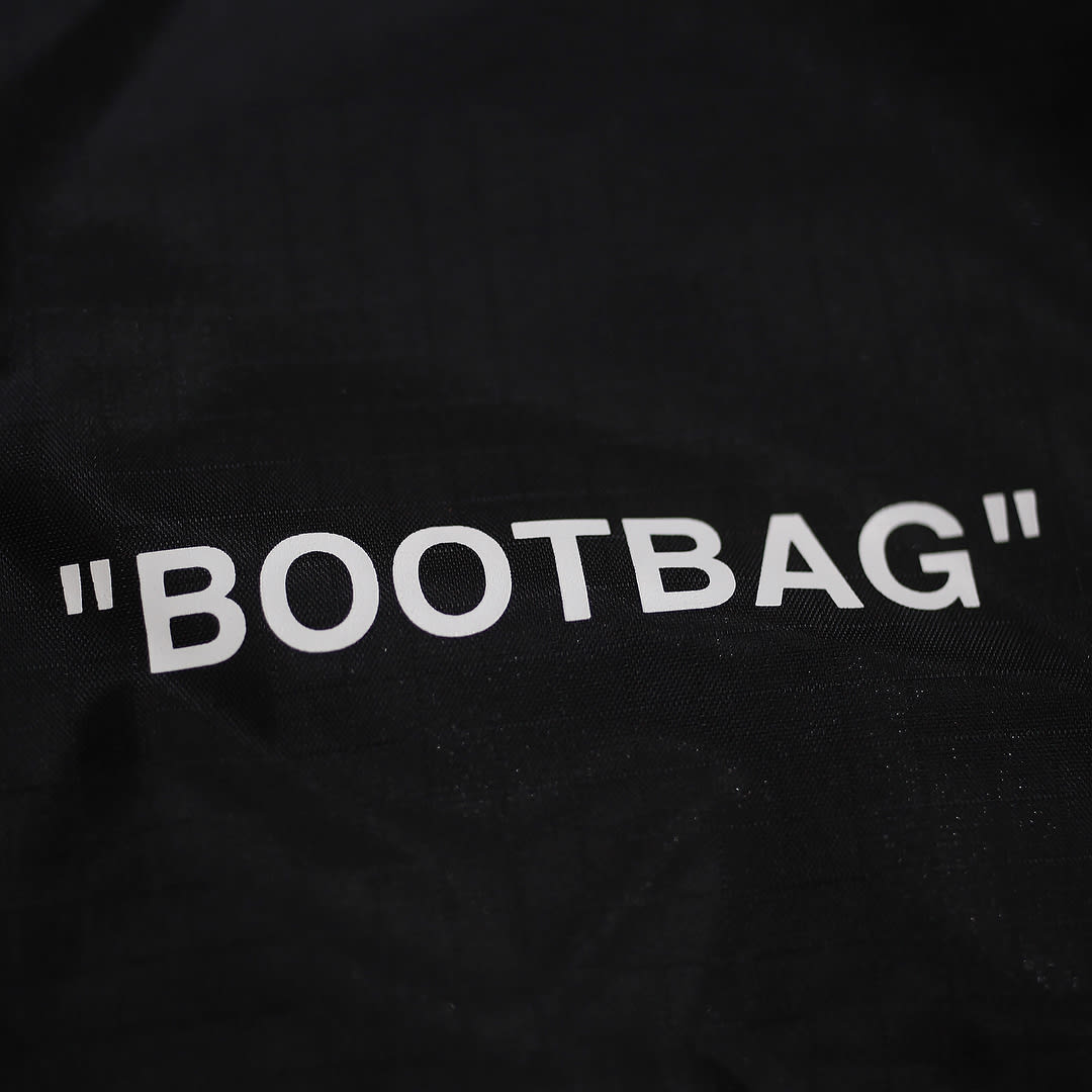 Off-White x Nike Zoom Fly Mercurial Flyknit Black Release Date AO2115-001 Bootbag