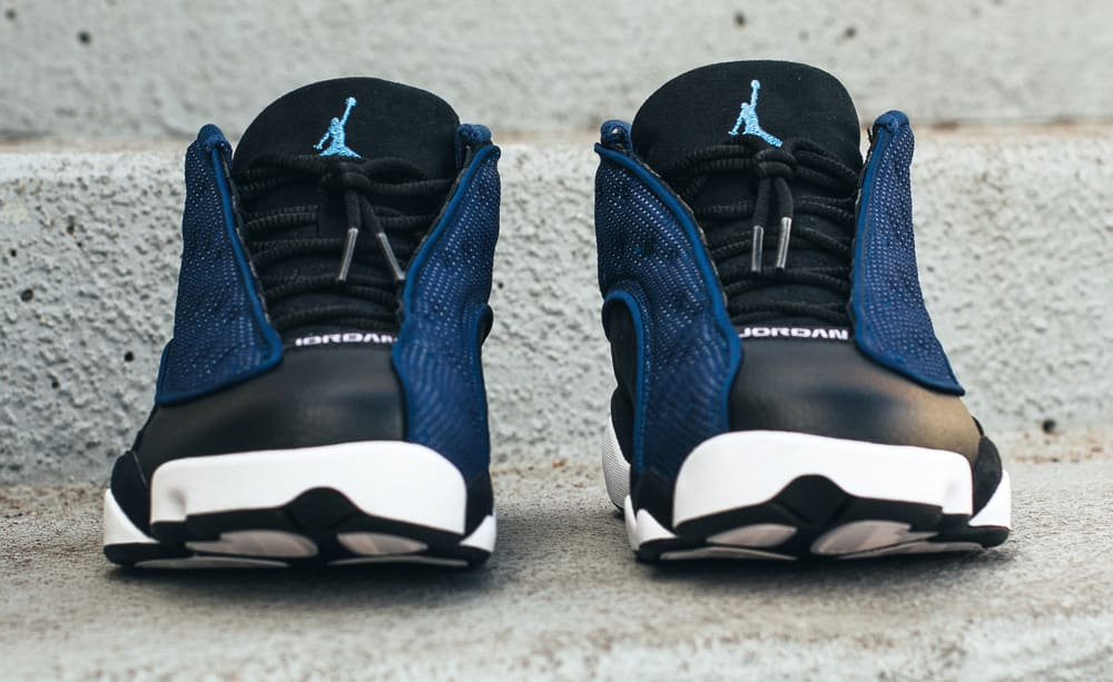 Brave Blue Air Jordan 13 Low 310810-407 Front