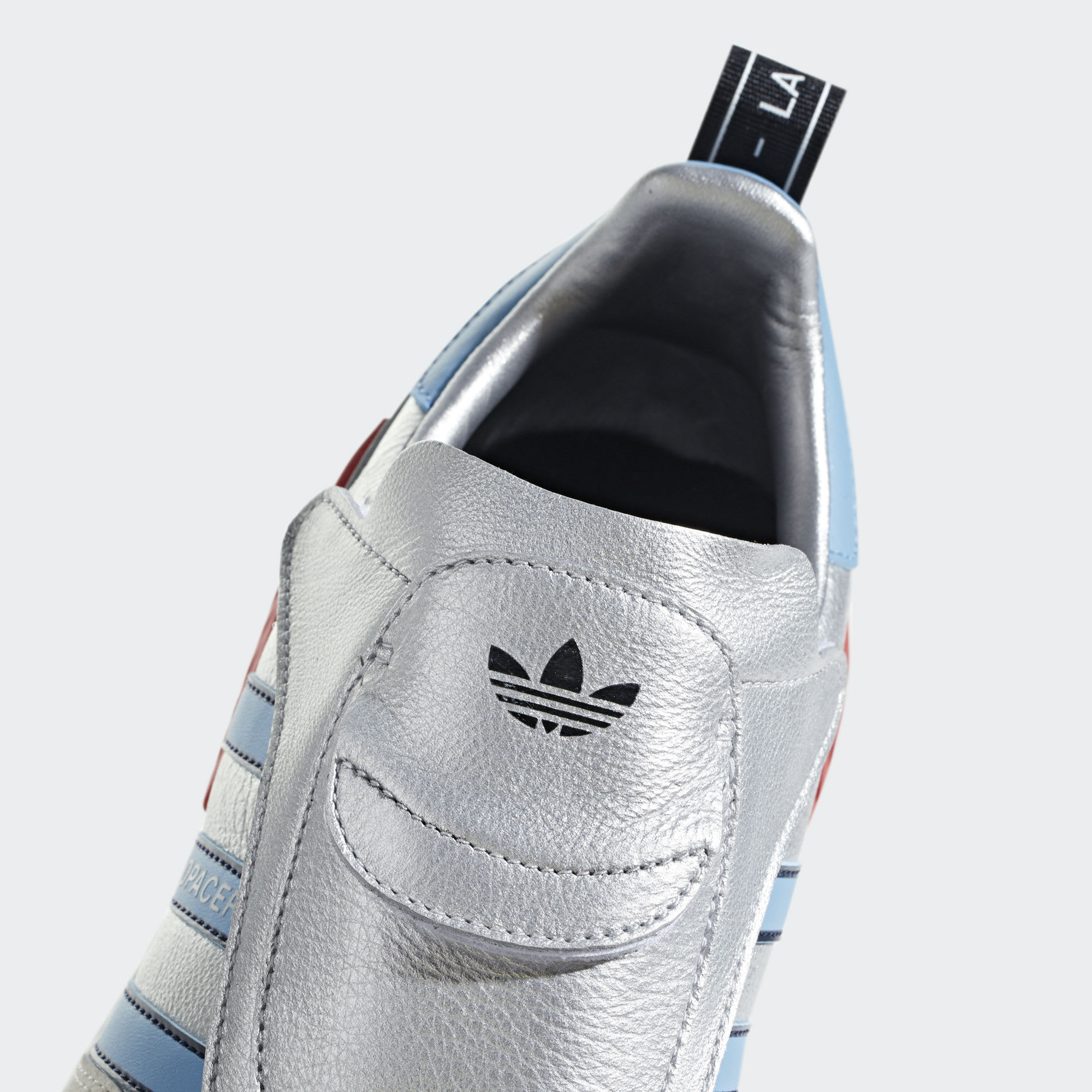Adidas Micropacer NMD R1 Silver Release Date G26778 Tongue