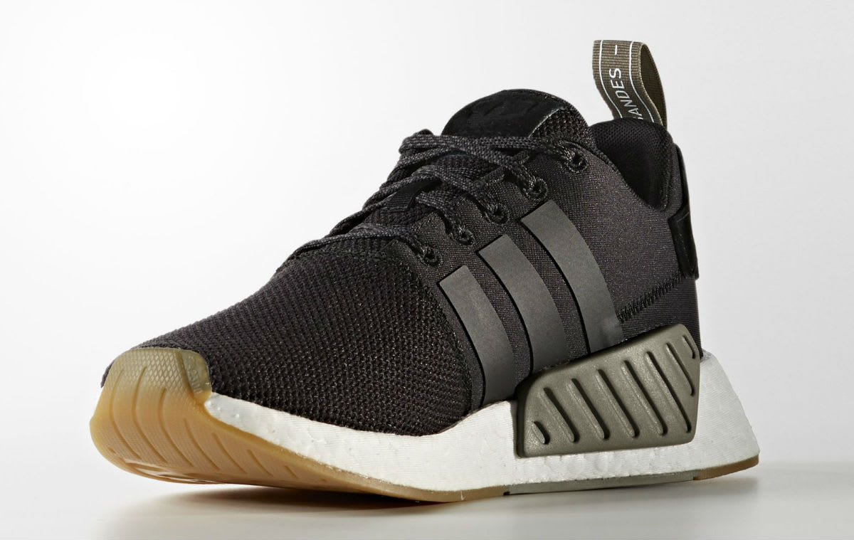 Adidas NMD_R2 Black Gum Release Date Medial BY9917