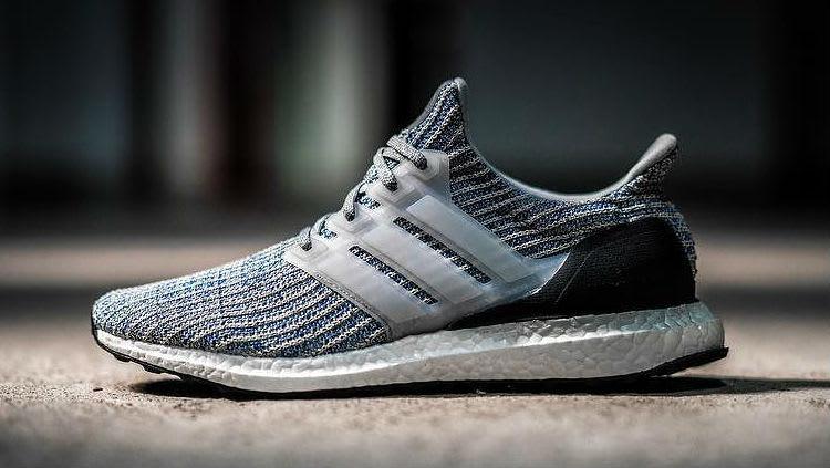 Adidas Ultra Boost 4.0 Grey/Blue Release Date Profile