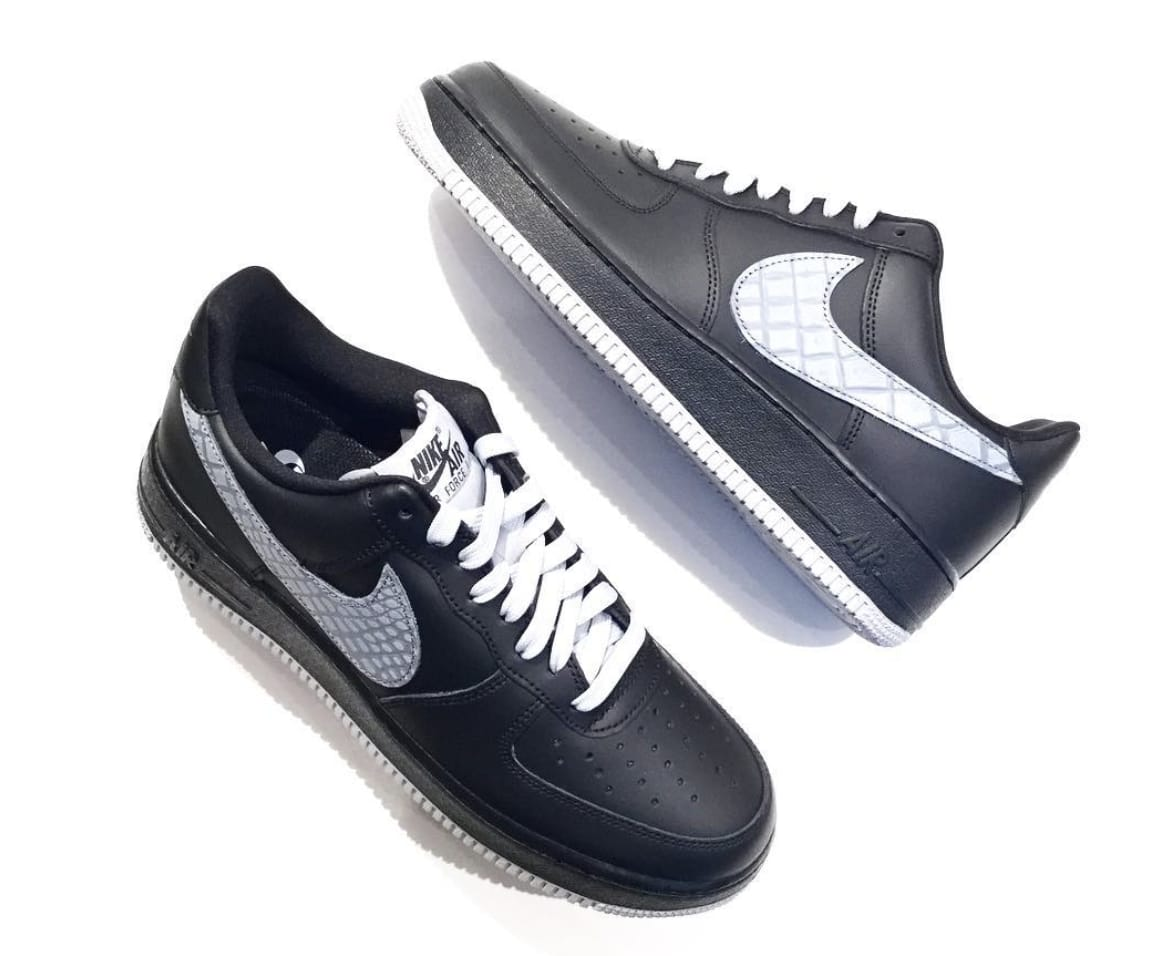 Nike Air Force 1 '07 LV8 Black/Sail 823511-012 (Pair)