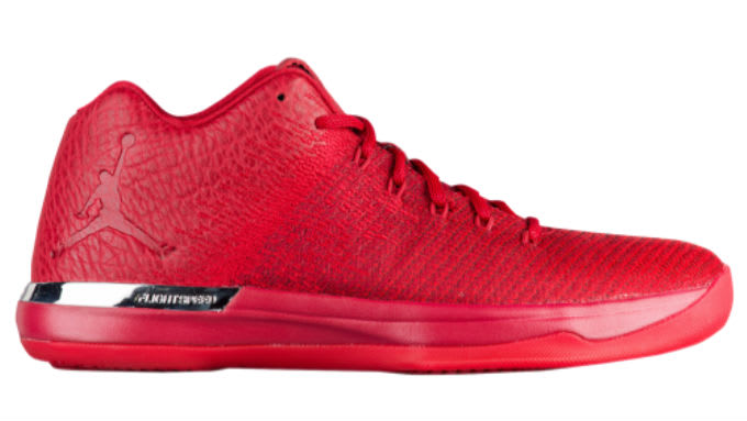 Air Jordan 31 Low All-Red Chicago Release Date 897564-601