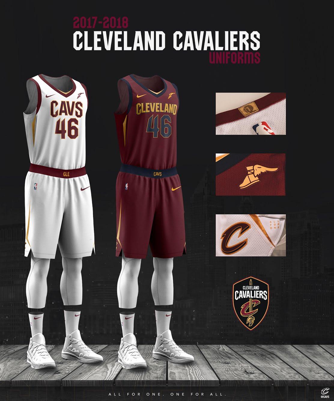 Cleveland Cavaliers Nike Uniform