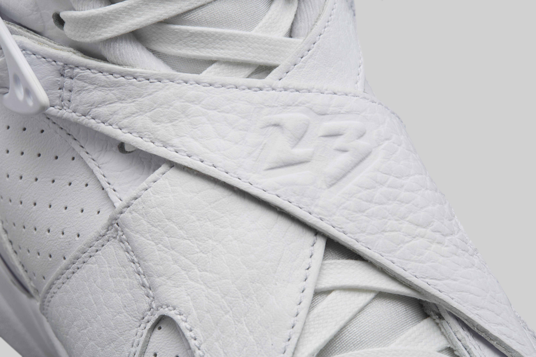 7ba70715045 ... Image via Nike Air Jordan 8 OVO WhiteMetallic Gold-Varsity Red-Blur  AA1239 ...