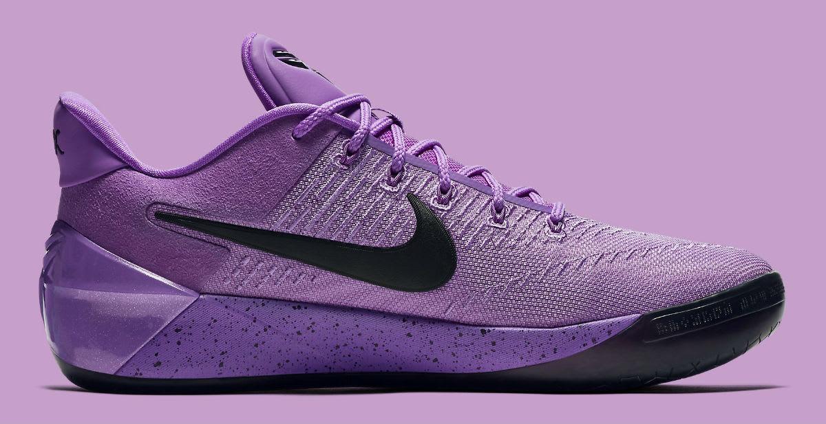 d9f2f4503746 ... Nike Kobe A.D. Purple Stardust Lakers Release Date Medial 852427-500 ...