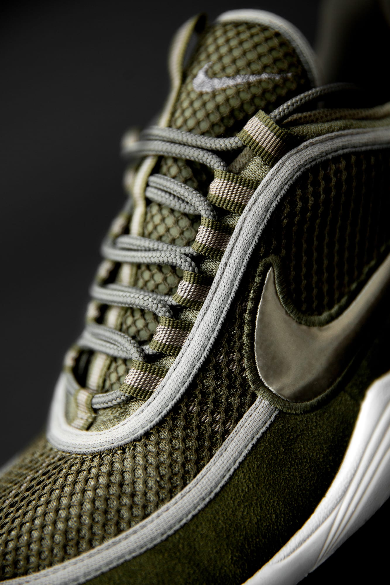 size? exclusive Nike Zoom Spiridon 'Olive' (Tongue)