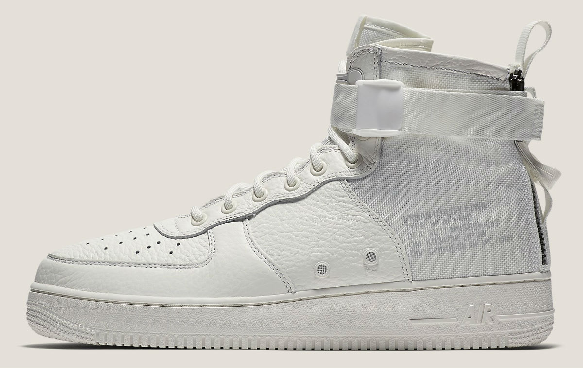 Nike Special Field Air Force 1 Mid Ivory Release Date Profile AA6655-100