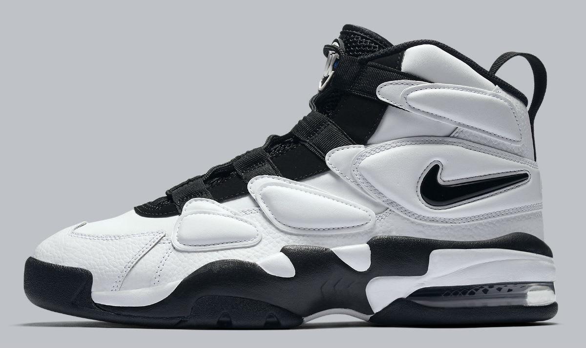 Nike Air Max2 Uptempo White/Black Release Date Profile 922934-102