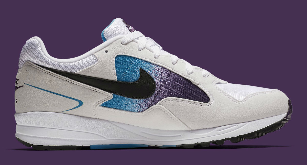 Nike Air Skylon 2 White Black Blue Lagoon Grand Purple Release Date AO1551-100 Medial