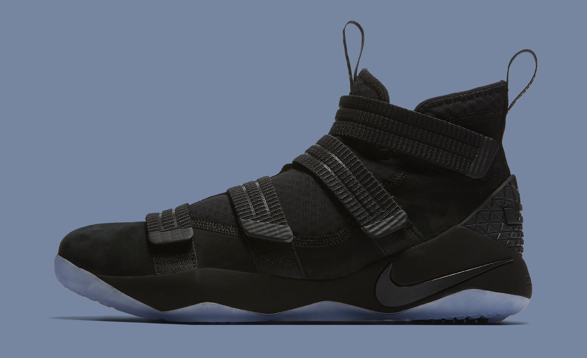 eb7aad02d1f8 Black Ice Nike LeBron Soldier 11 897646-001 Strive for Greatness Release  Date