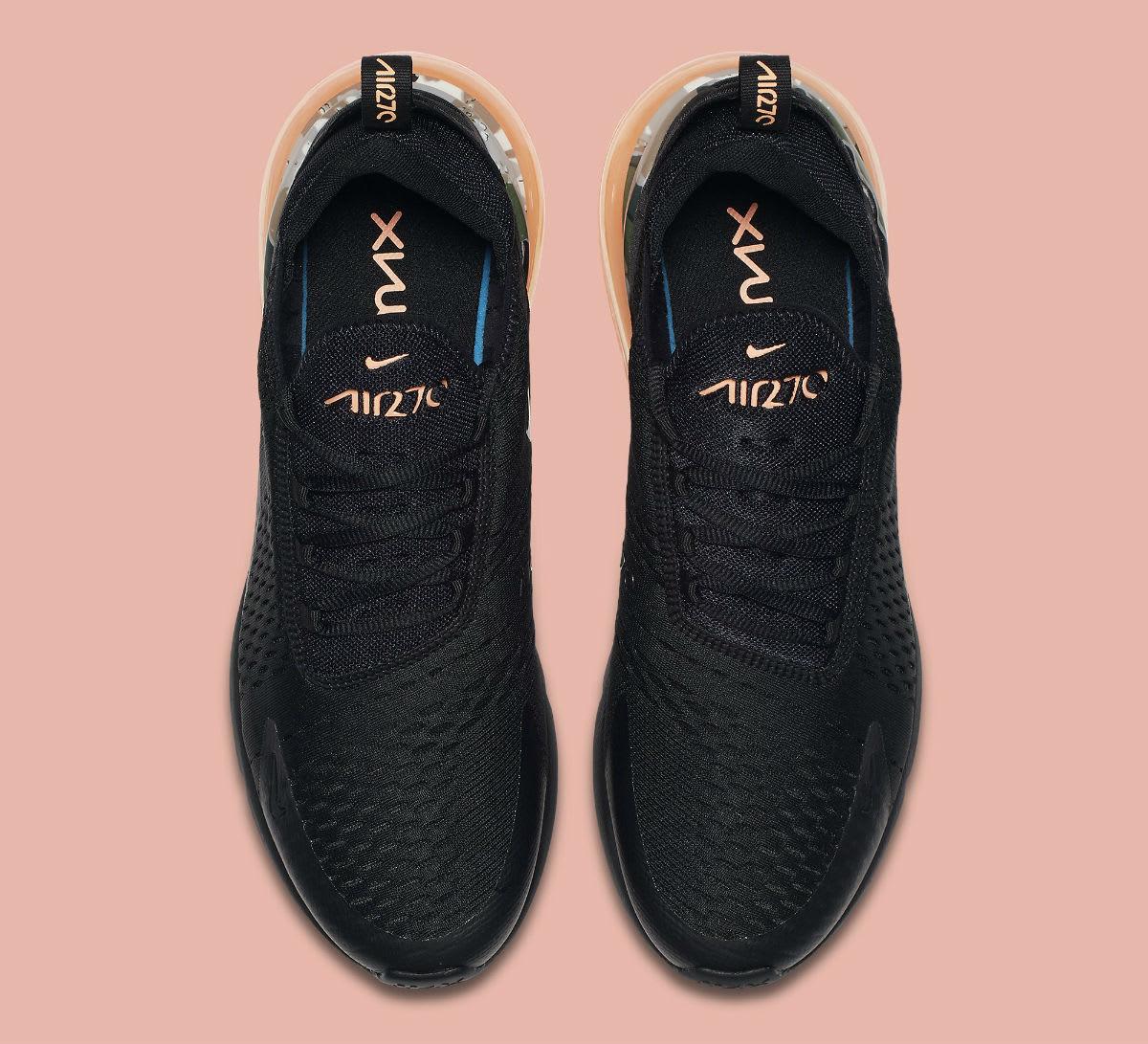 Nike Air Max 270 Sunset Tint Camo Heel Release Date AQ6239-001 Top