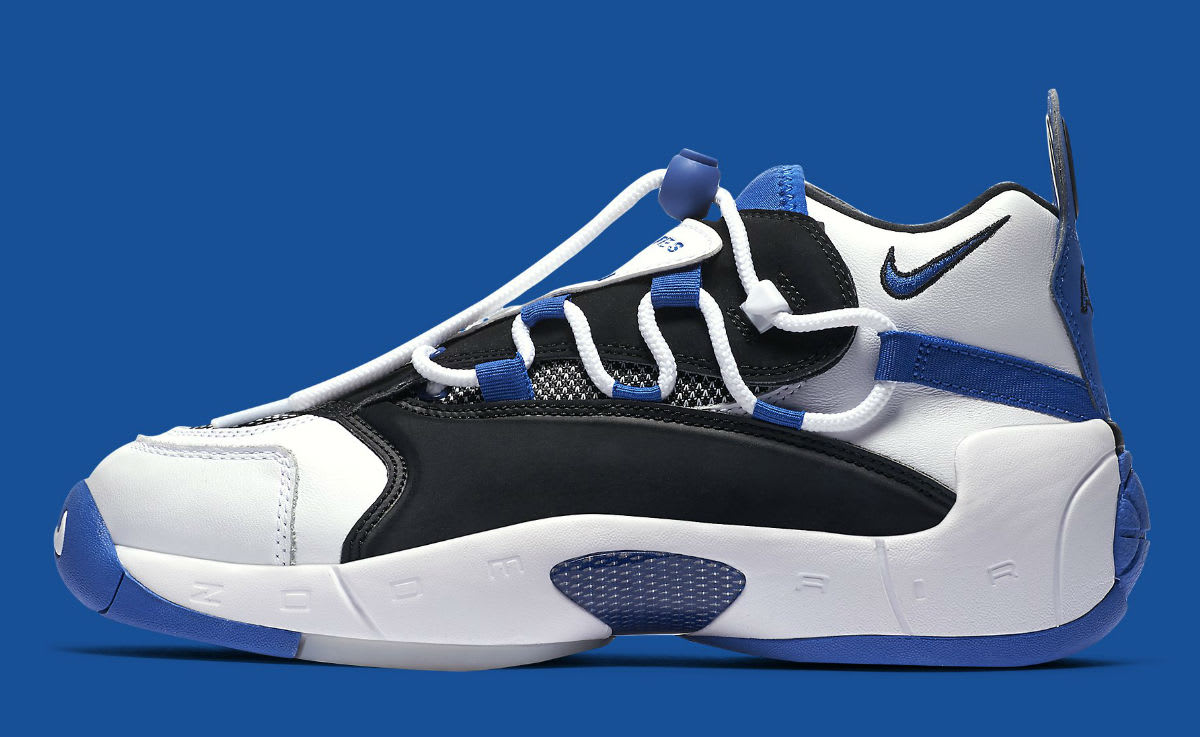 Nike Air Swoopes 2 II White Blue Release Date 917592-101 Profile