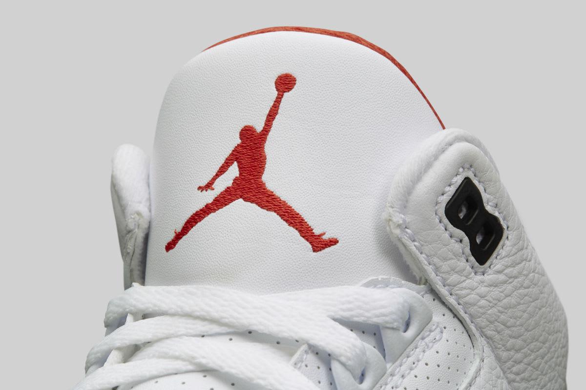 Air Jordan 3 III Clear Sole Release Date 923096-101 Tongue