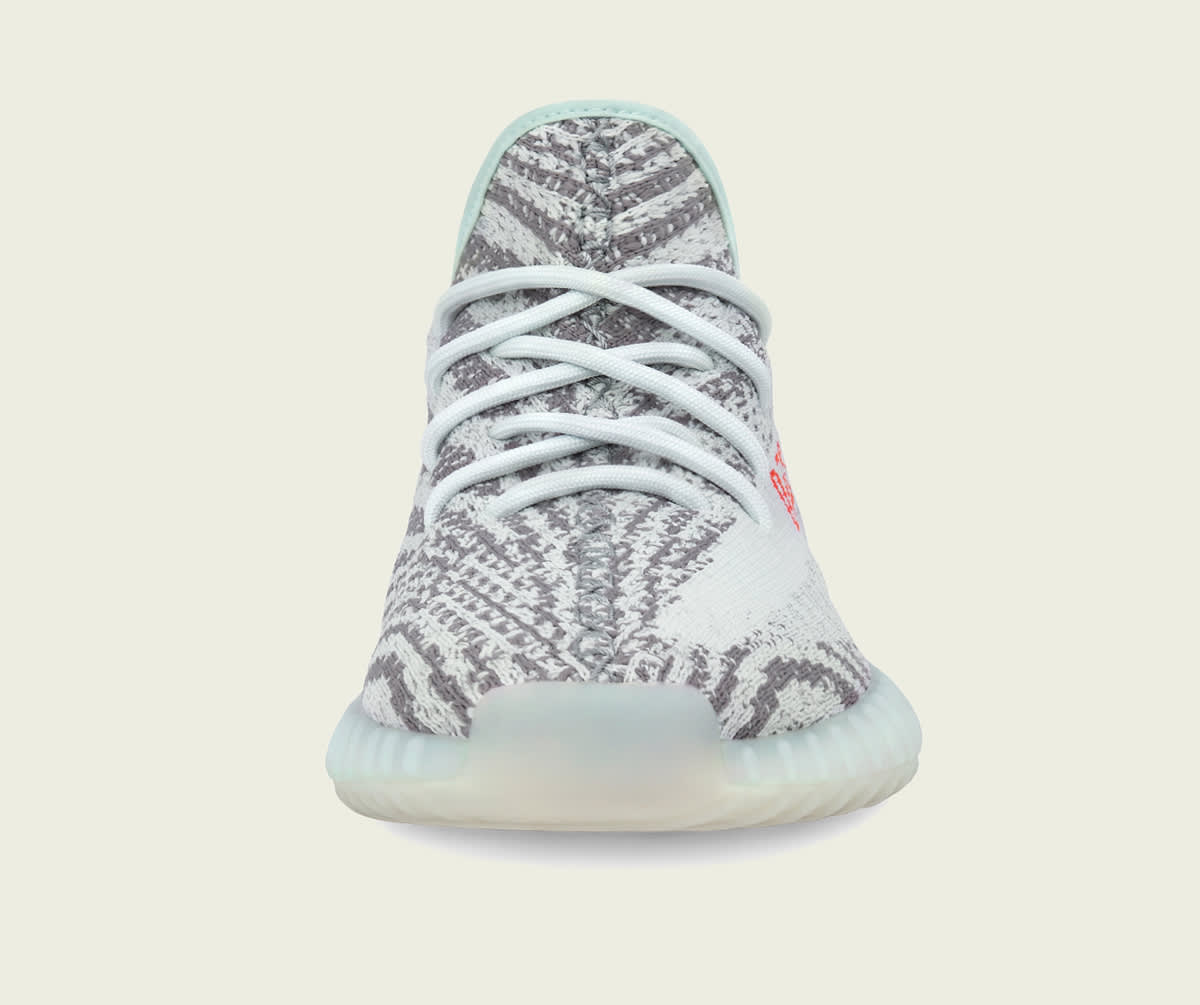 on sale 28ffb 94d06 Adidas Yeezy Boost 350 V2 Semi Frozen Yellow Beluga 2 Blue Tint Release  Date   Sole Collector