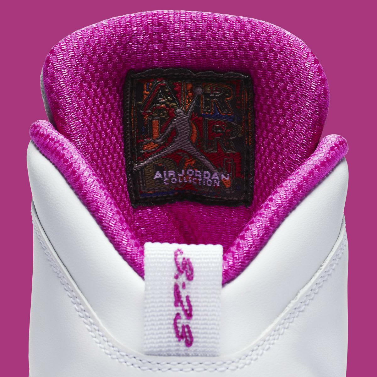 the best attitude 1e68b 2566d Air Jordan 10 X Maya Moore PE Release Date Tongue AA2900-159 ...