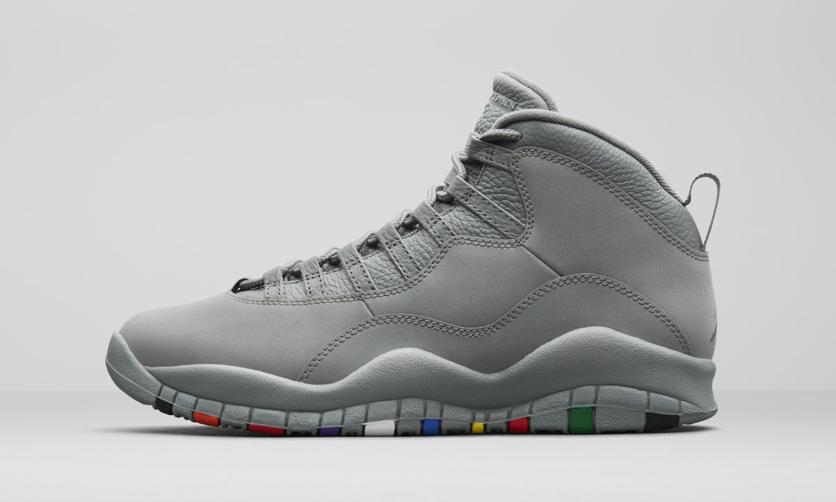 Air Jordan 10 Cool Grey 310805-022