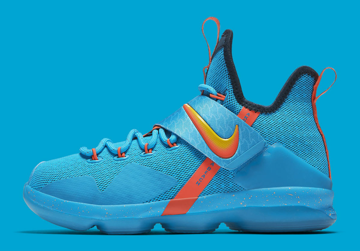 Nike LeBron 14 GS Cocoa Beach Release Date Profile 859468-477