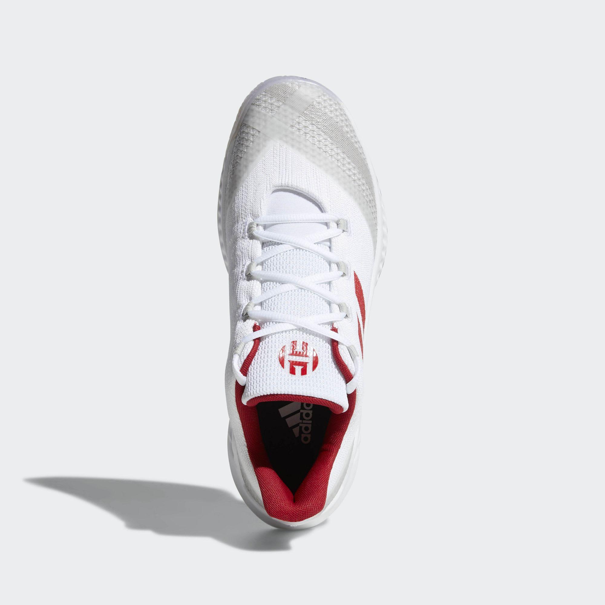 ... clearance adidas harden b e 2 white red top 5ac74 f61fa 87b3f8aba