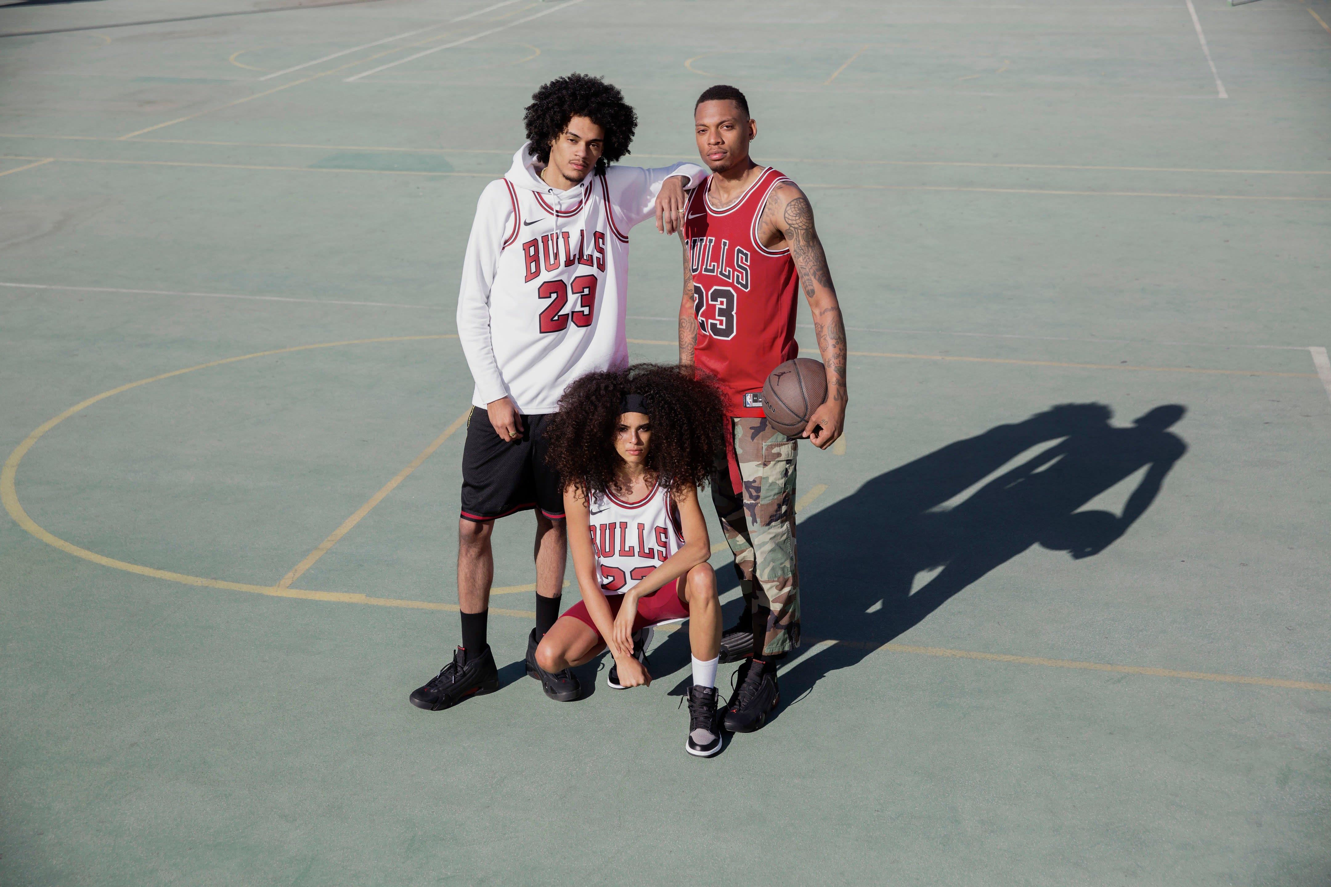 Michael Jordan Chicago Bulls Last Shot Jersey (Group)