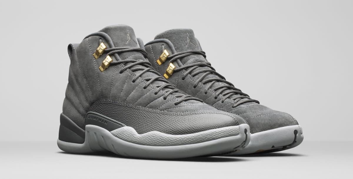 Air Jordan 12 Dark Grey
