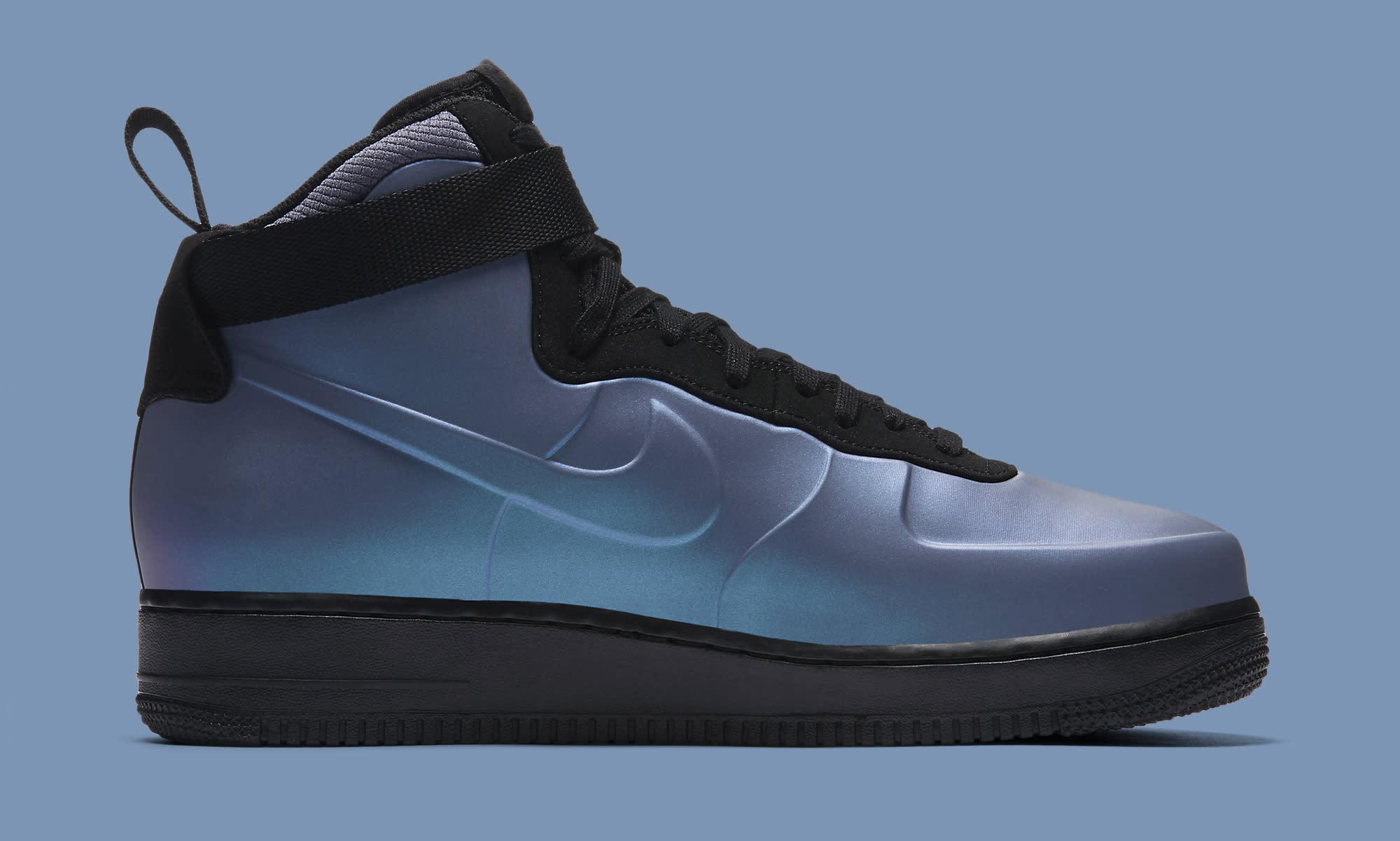 Nike Air Force 1 Foamposite Light Carbon AH6771-002 Medial